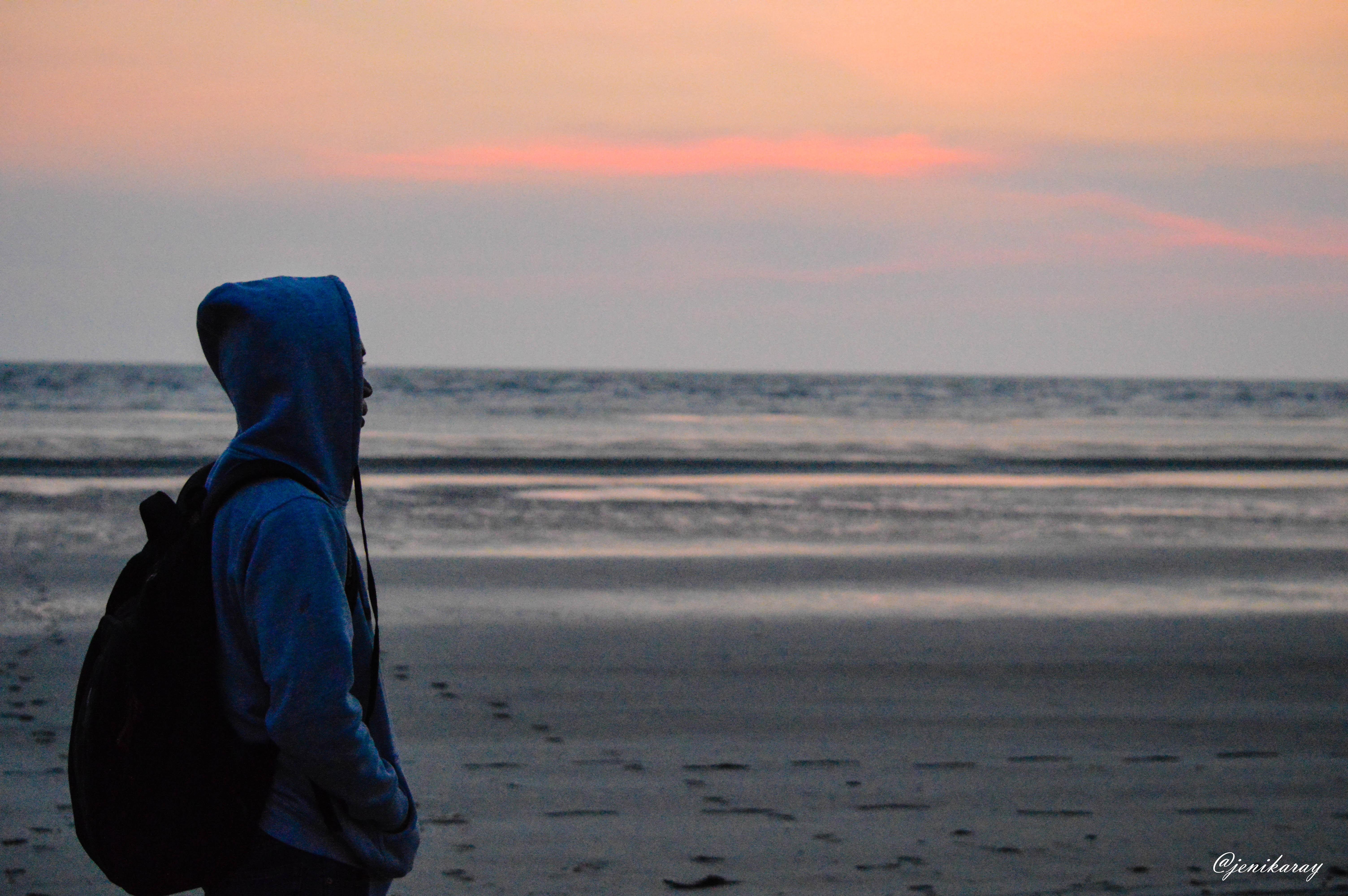 Sunset at Merauke City, Captured by Jeni Karay